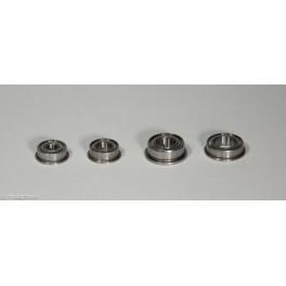 Fläns-kullager, 6 mm