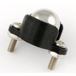 Stödkula, metall, 9.5 mm
