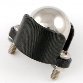 Stödkula, metall, 12.7 mm